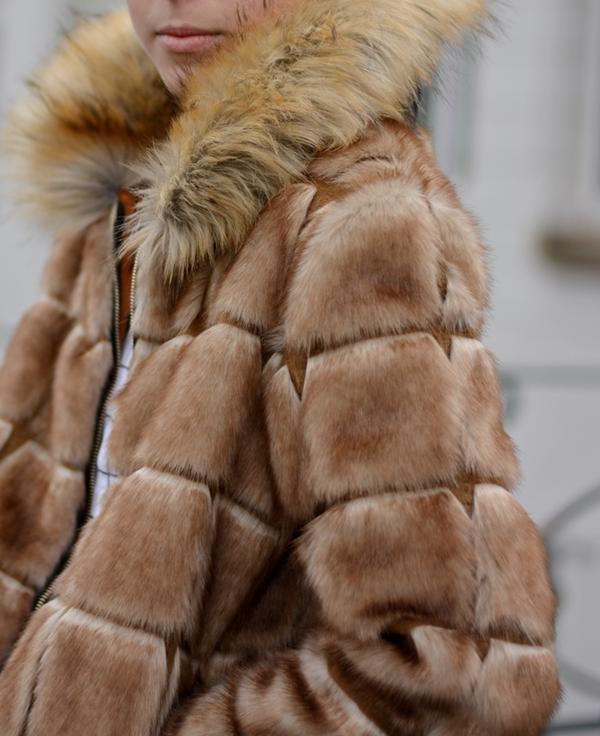 details fake fur