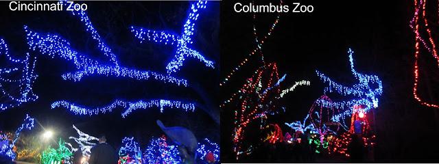 Columbus Zoo Festival Lights