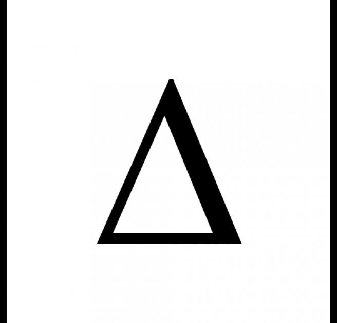 Greek Letters T-Shirts | Spreadshirt |Greek Delta Symbol