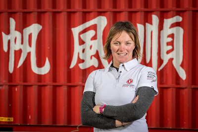 Marie Riou embarque sur Dongfeng