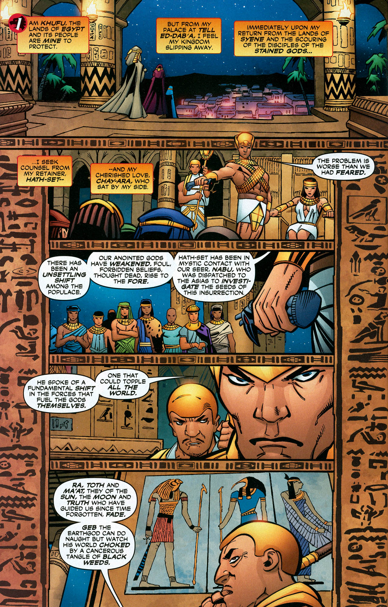 Read online Trinity (2008) comic -  Issue #22 - 5