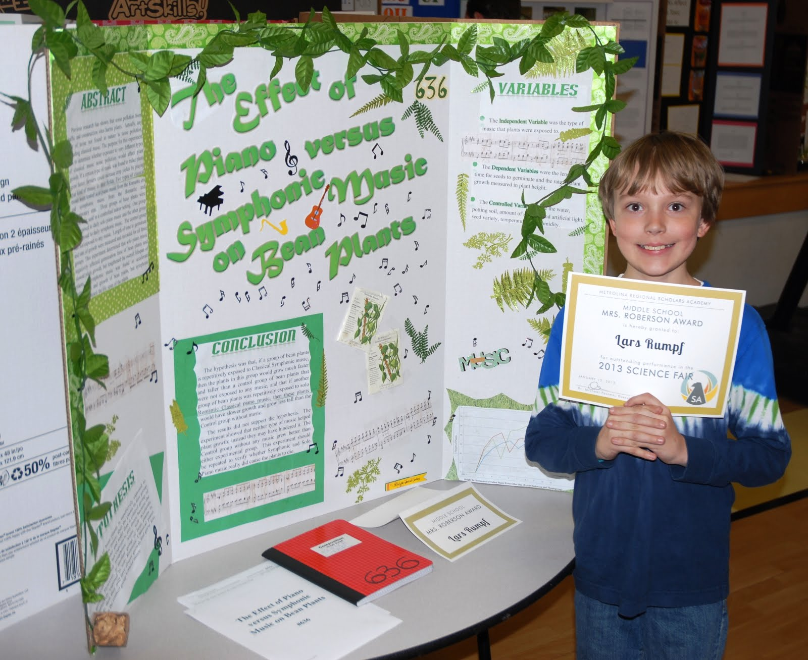 Lars And Anders Come Up Winners At on Science Fair Winning Projects 2