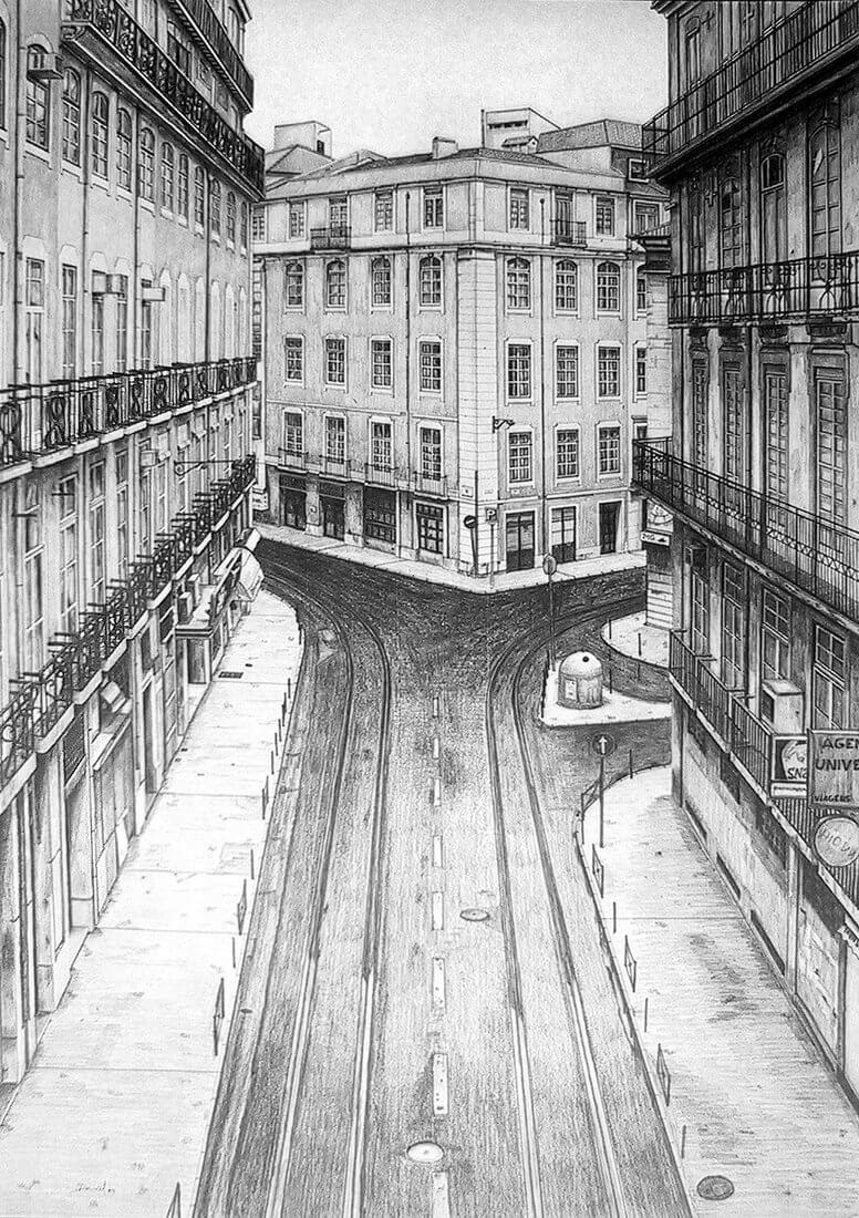 01-Calle-de-Lisboa-Daniel-Formigo-Pencil-Urban-Architectural-Drawings-www-designstack-co