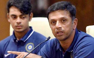 U-19 coach Rahul Dravid said about going to the Pakistani dressing room