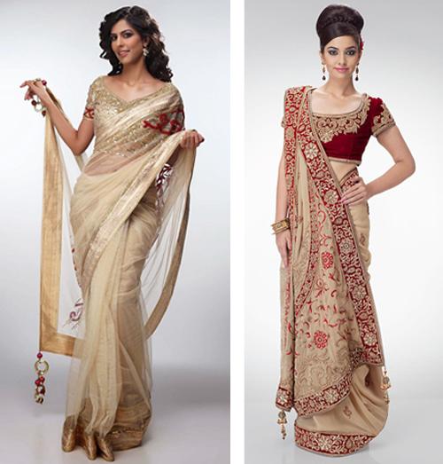 baju pesta sari india