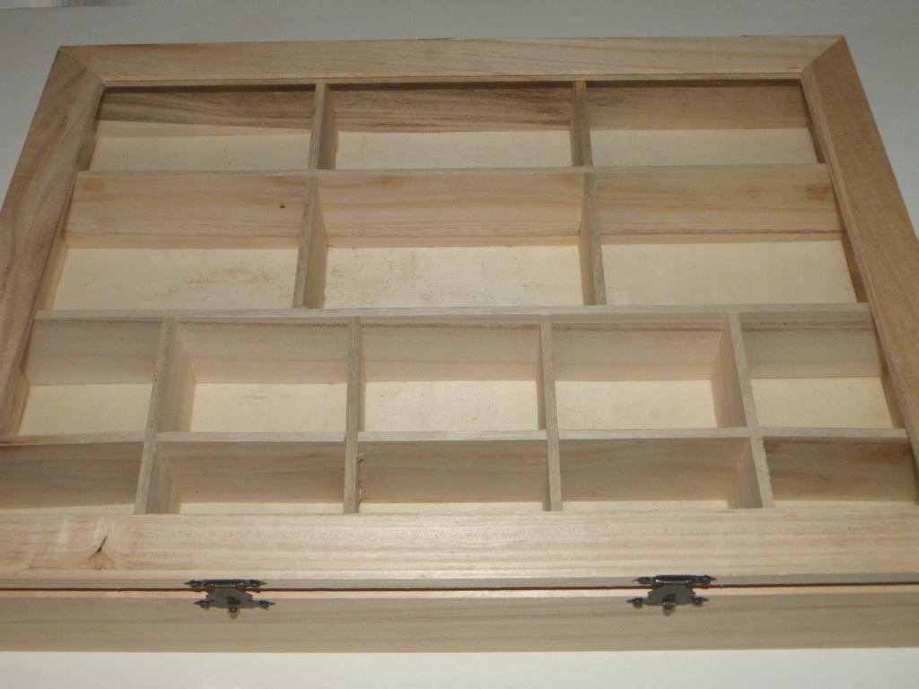 Caja de madera decorada con decoupage y estarcidos - Cajas de maderas ...