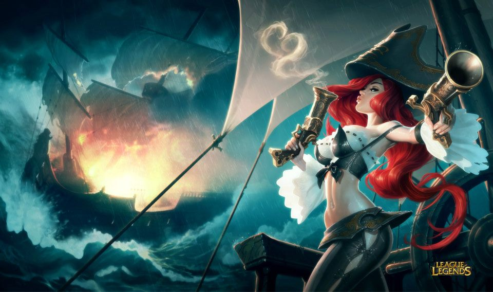 League Of Legends Miss Fortune Wallpaper: League Of Legends New Morgana And Miss Fortune