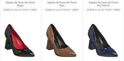 Zapatos tacón 23