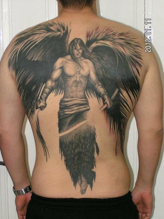 Imagens De Tatuagem Para Fazer Tatuagens De Anjos Tattoo