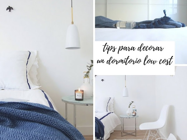 Ideas para decorar un dormitorio low cost