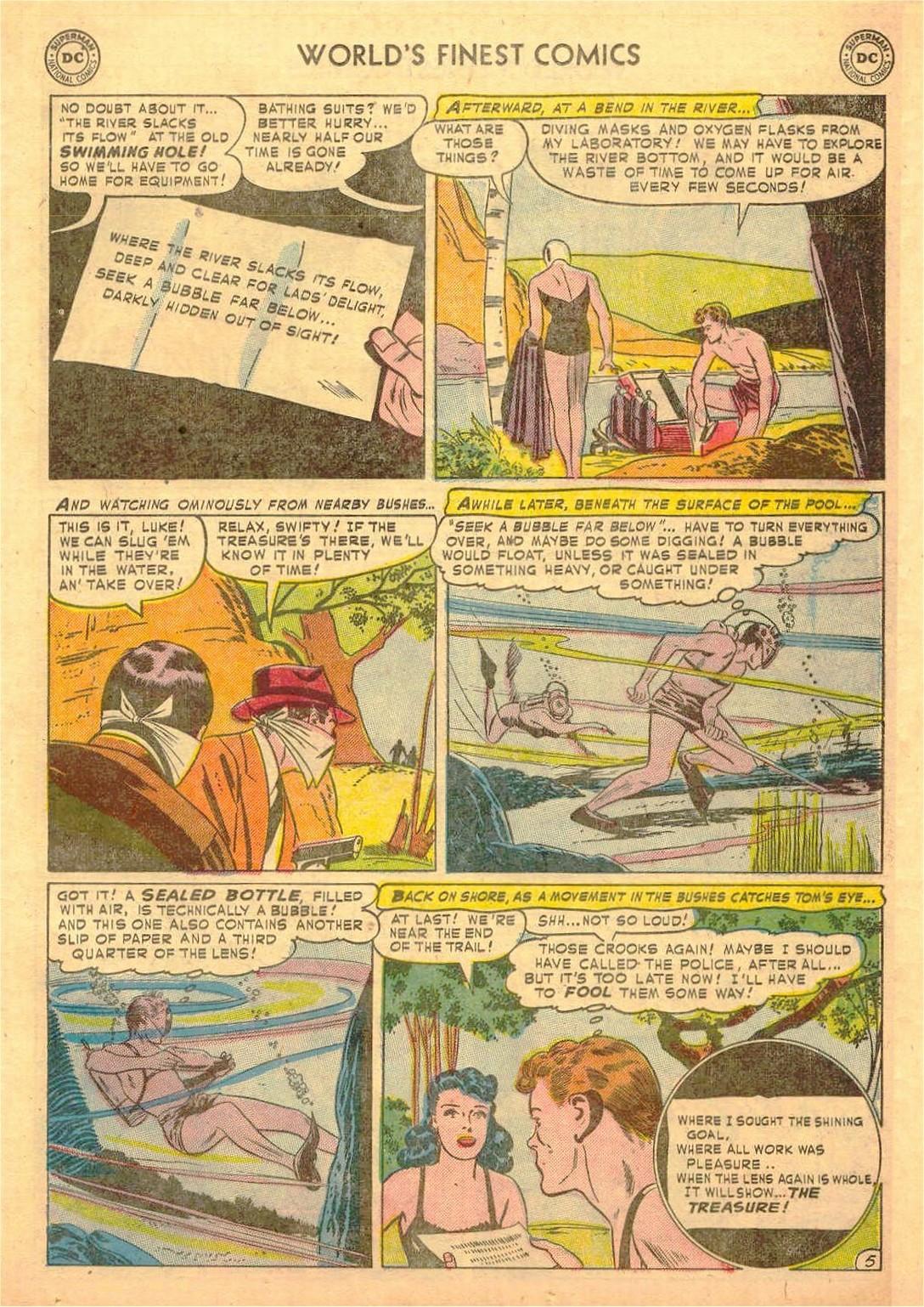 Read online World's Finest Comics comic -  Issue #58 - 45
