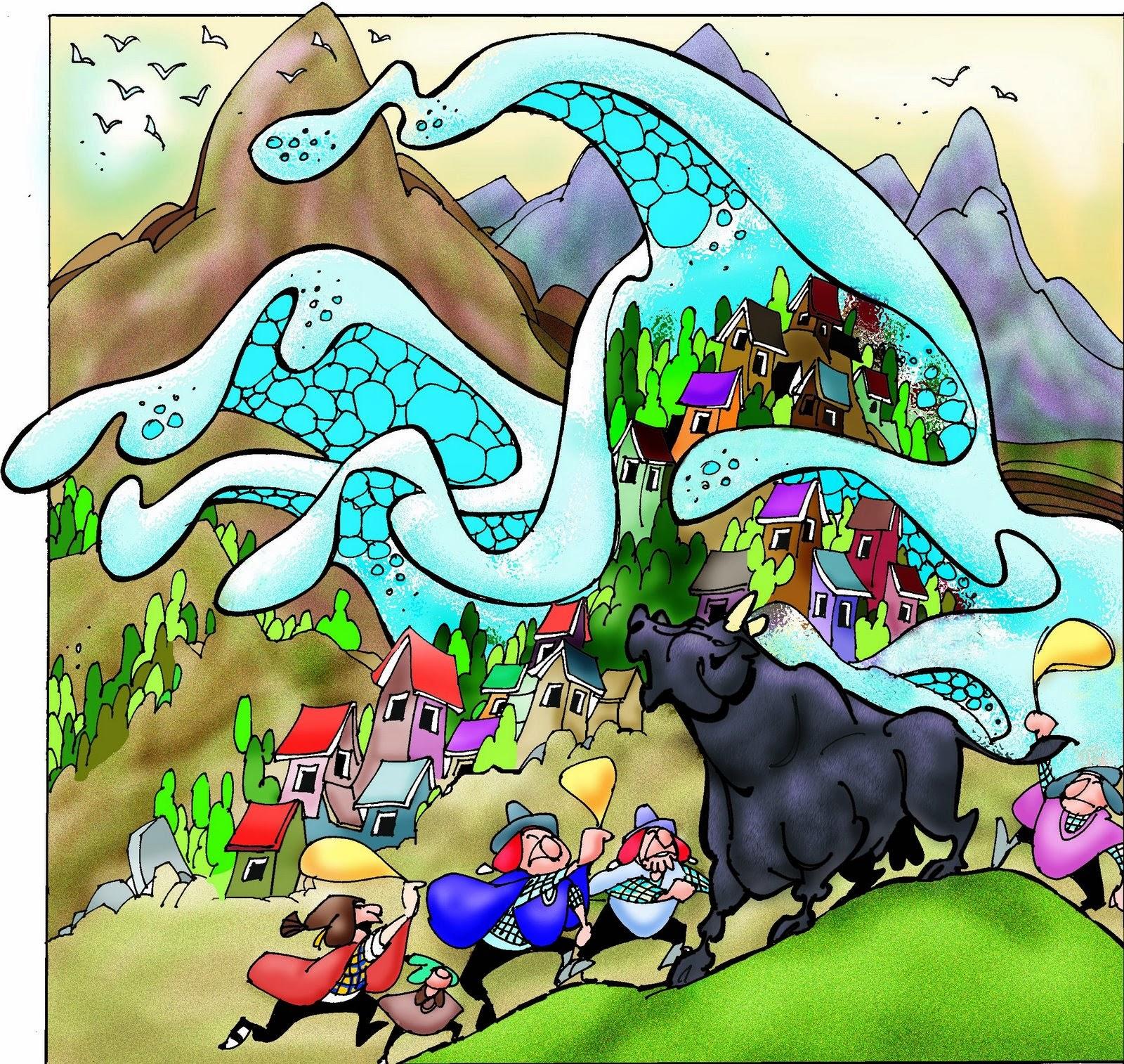 leyenda el toro encantado
