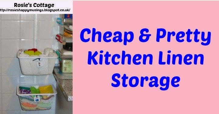Kitchen Trolley Storage Unit