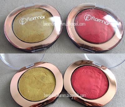 Flormar Bohemian Dream Puffy Eye Shadow Göz Farı ve Makyajı / 02-03