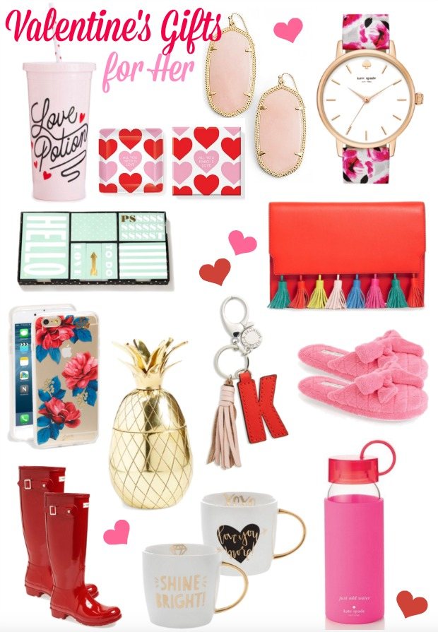 Valentine's Day Gift Ideas for Her - one of each please!