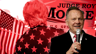 Roy Moore's Last Push: It's Me or the 'Lynch Mob Media'