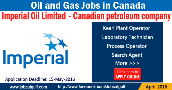 Imperial oil job search
