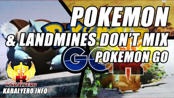 Pokemon & Land Mines Don't Mix ★ Pokemon Go