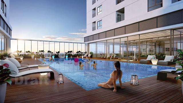 Bể bơi chung cư ICID COMPLEX