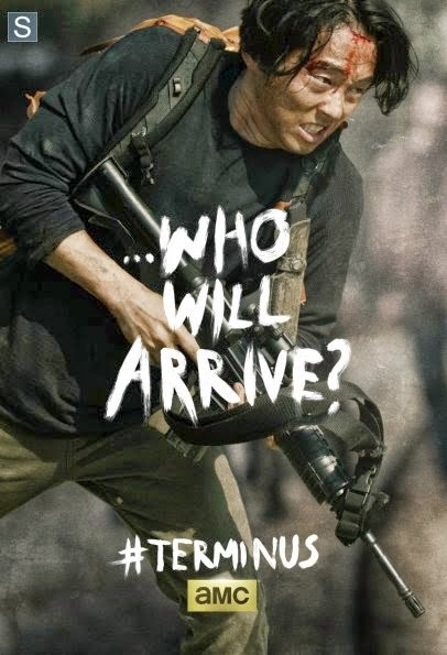 "Poster de Glenn para el final de la cuarta temporada  ""The Walking Dead"""