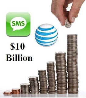 $10 Billion Per Year Spent on Texting