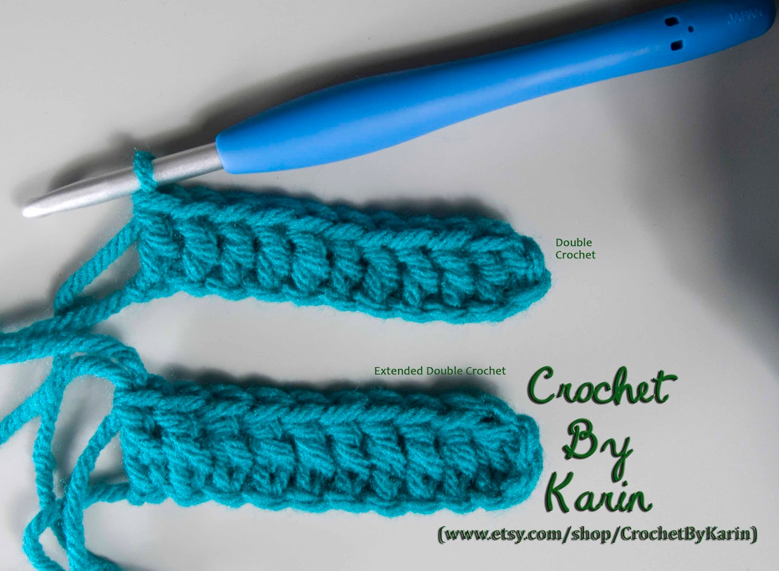 Crochet Stitch Edc : single crochet at the bottom of each extended double crochet stitch ...
