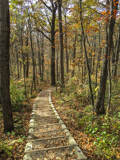 The Flint Rock Trail at Blue Mound State Park