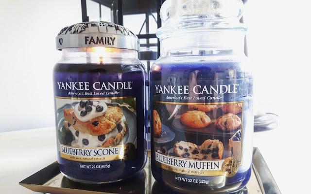 Jagodowe słodkości - porównanie Blueberry Scone i Blueberry Muffin Yankee Candle - Czytaj więcej »