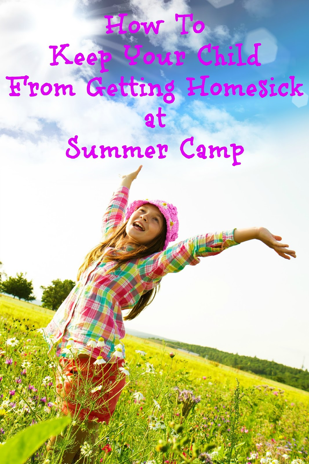 4 great tips to help keep your child from getting homesick at #summer #camp. #parenting