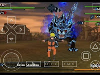 Update Kumpulan Game Naruto Shippuden PPSSPP ISO for Android 2017