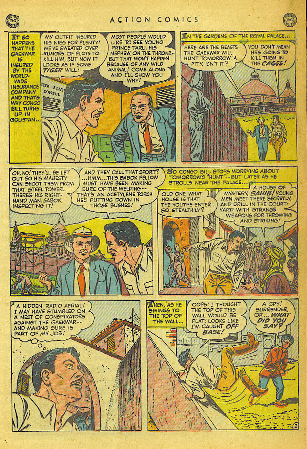 Read online Action Comics (1938) comic -  Issue #149 - 23