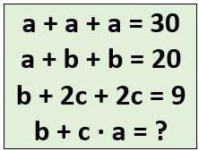 Brain Teaser to solve Mathematical Equations