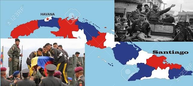 Fidel Castro hace trayecto inverso de la Caravana de la Libertad,  convertido en cenizas