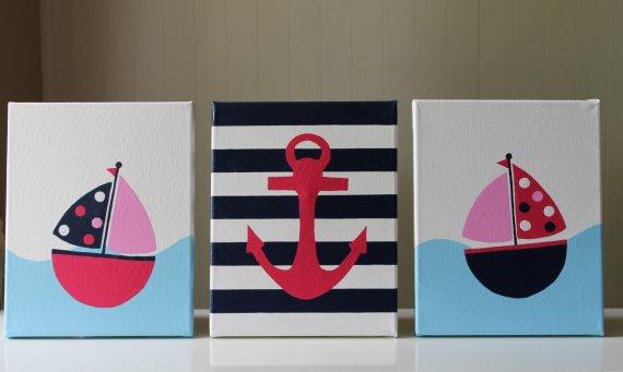 Https Www Etsy Listing 151499176 Baby Nautical Decor Nursery Ref Pr