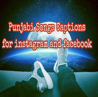 Punjabi songs status and instagram Captions