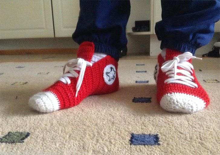 Como hacer Deportivas de Crochet