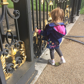 Girl at golden gates