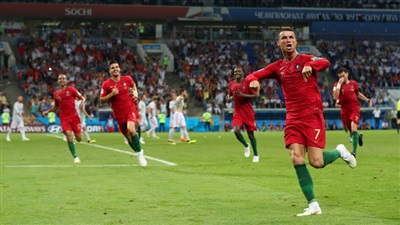 رونالدو ينقذ البرتغال من الهزيمة أمام إسبانيا ,بالفيديو اهداف مباراة اسبانيا والبرتغال (3-3)