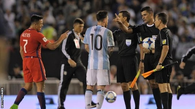 Lionel Messi: Barcelona and Argentina forward banned for 'insulting' assistant ref