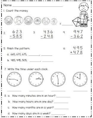 math for second grade