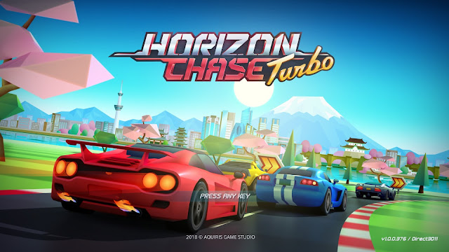 Screenshot from Horizon Chase Turbo