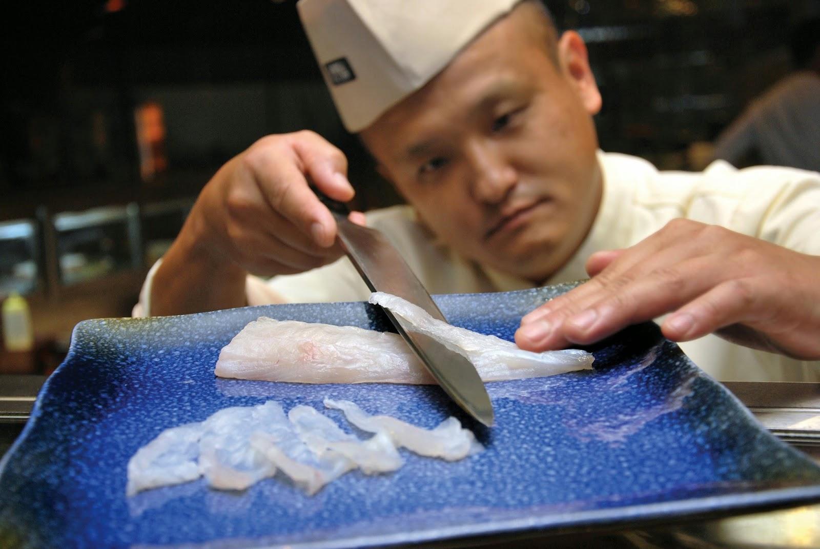 Image result for fugu fish dish