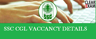 SSC CGL Vacancy Details