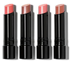 four new shades of the Bobbi Brown Sheer Lip Color