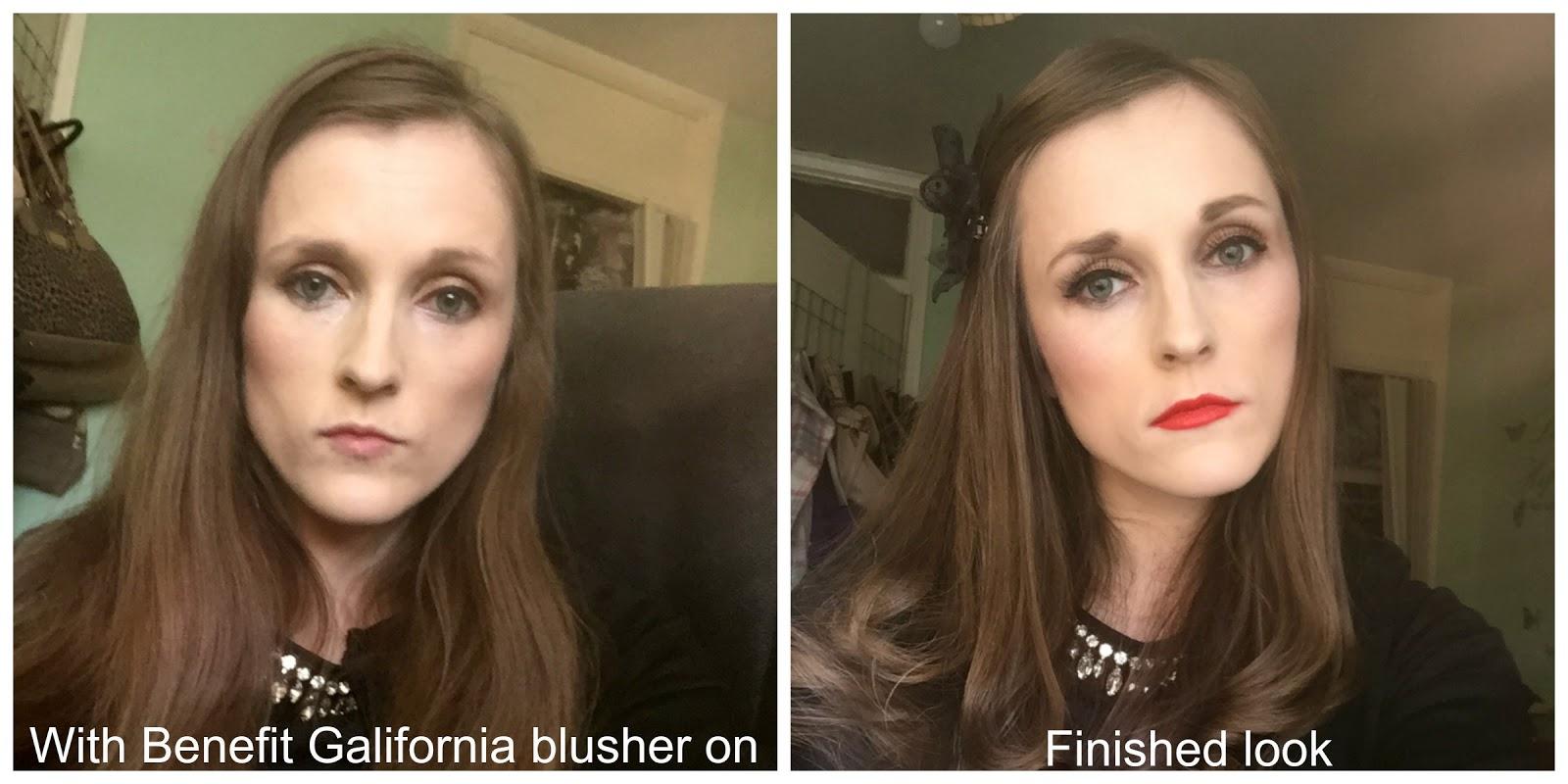 wearing benefit galifornia blusher
