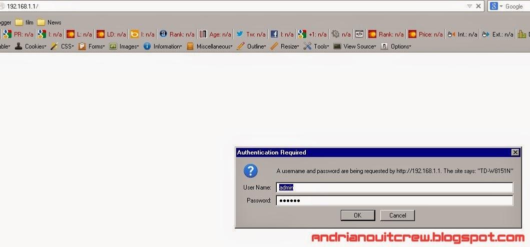 cara setting ulang modem speedy tplink adsl + wifi