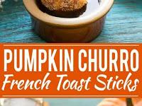 Pumpkin Churro French Toast Sticks Recipe