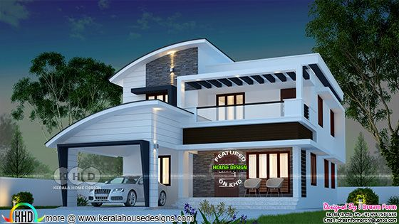 3 bedroom 2280 sq ft modern home design