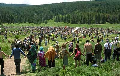 The Westerner Rainbow Family Gathering Costs U S Forest