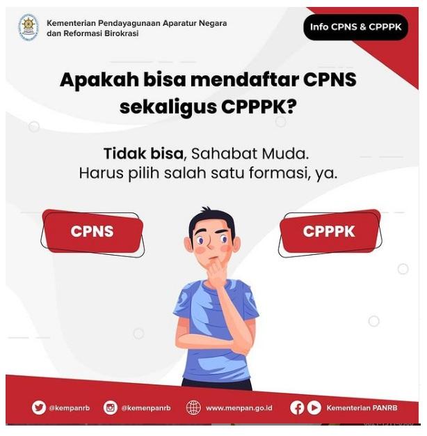 Apakah Bisa Mendaftar CPNS sekaligus CPPPK